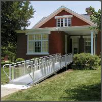Permanent Aluminum Wheelchair Ramps and Installation
