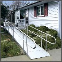 Wheelchair Aluminum Ramps for Stairs