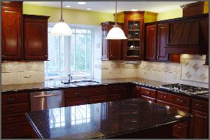 Dark Kitchen Cabinets Used in Kitchen Renovations