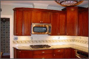 Custom Kitchen Wall Cabinets